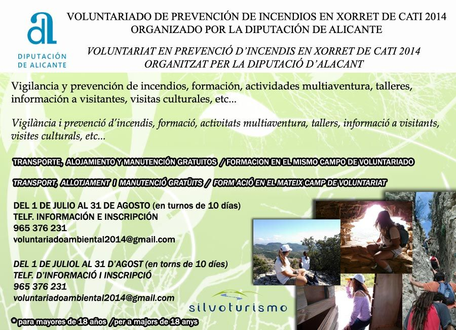 Voluntariado Ambiental Cartel-Julio2014